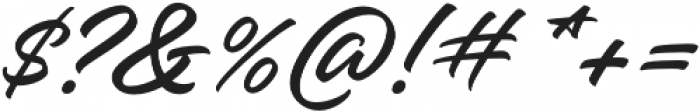Hangbird otf (400) Font OTHER CHARS