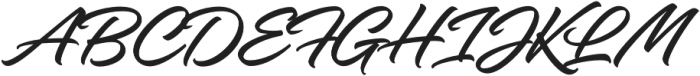 Hangbird otf (400) Font UPPERCASE