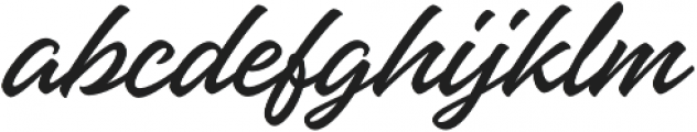 Hangbird otf (400) Font LOWERCASE