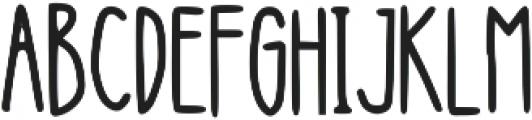 Hanging ttf (400) Font UPPERCASE