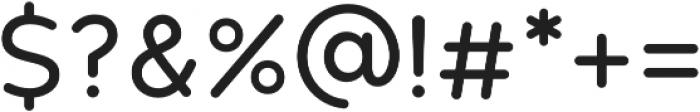 HankRnd otf (400) Font OTHER CHARS