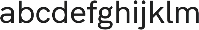 Hanken Grotesk Medium otf (500) Font LOWERCASE