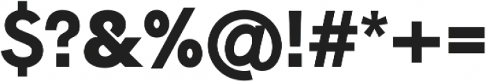 Hanken Sans ExtraBold otf (700) Font OTHER CHARS