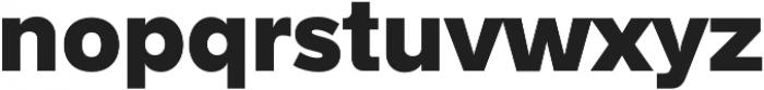 Hanken Sans ExtraBold otf (700) Font LOWERCASE