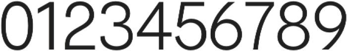 Hanken Sans Light otf (300) Font OTHER CHARS