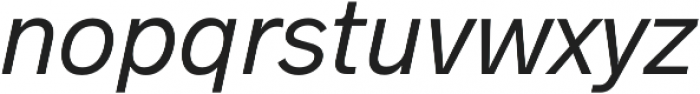 Hanken Sans otf (400) Font LOWERCASE