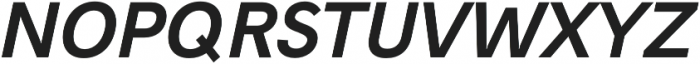 Hanken Sans otf (700) Font UPPERCASE