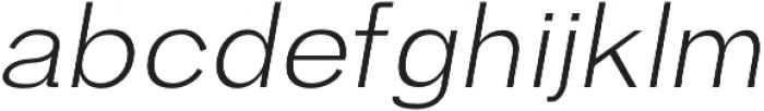 Hanko Light Italic otf (300) Font UPPERCASE