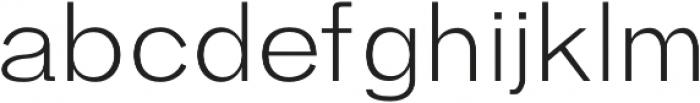 Hanko Light otf (300) Font LOWERCASE