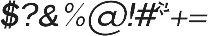 Hanko Regular Italic otf (400) Font OTHER CHARS