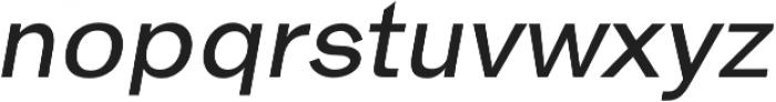 Hanko Regular Italic otf (400) Font UPPERCASE