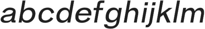 Hanko Regular Italic otf (400) Font LOWERCASE