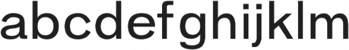 Hanko Regular otf (400) Font LOWERCASE