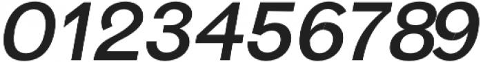 Hanko Semi-Bold Italic otf (600) Font OTHER CHARS