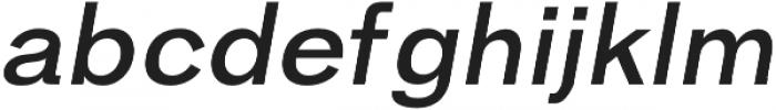 Hanko Semi-Bold Italic otf (600) Font UPPERCASE