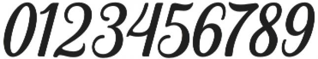 Hanleth otf (400) Font OTHER CHARS