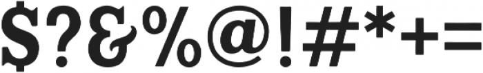 Hanley Block Display otf (400) Font OTHER CHARS
