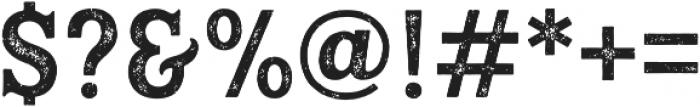 Hanley Rough PUA Block otf (400) Font OTHER CHARS