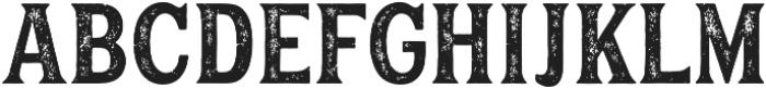 Hanley Rough PUA Block otf (400) Font LOWERCASE