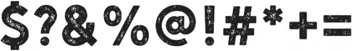 Hanley Rough PUA Sans otf (400) Font OTHER CHARS