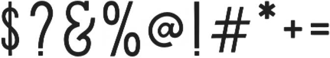 Hanley Slim Serif otf (400) Font OTHER CHARS