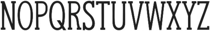 Hanley Slim Serif otf (400) Font LOWERCASE