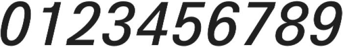 Hans Grotesque Medium Italic otf (500) Font OTHER CHARS