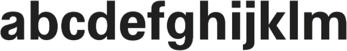 Hans Grotesque otf (700) Font LOWERCASE