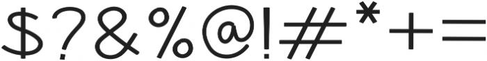 Hansville Regular otf (400) Font OTHER CHARS