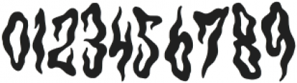 Hantu Regular otf (400) Font OTHER CHARS