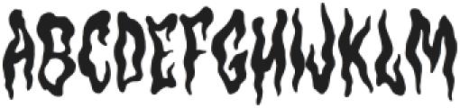 Hantu Regular otf (400) Font LOWERCASE