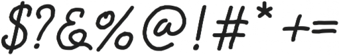 Happiness Script otf (400) Font OTHER CHARS