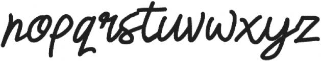 Happiness Script otf (400) Font LOWERCASE