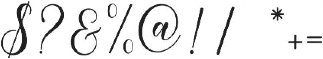 Happy Christmas Script Regular otf (400) Font OTHER CHARS