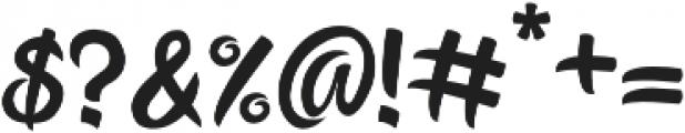 Happy Ending Regular otf (400) Font OTHER CHARS