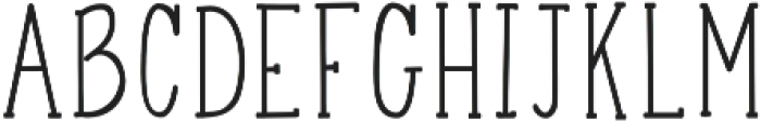 Happy Girl Solid otf (400) Font LOWERCASE