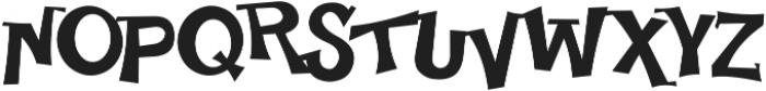 Happy Serif otf (400) Font UPPERCASE