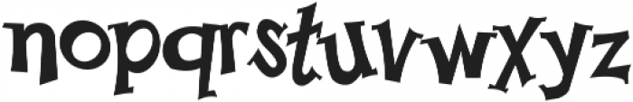 Happy Serif otf (400) Font LOWERCASE