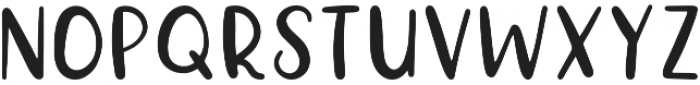 Happy Things Regular otf (100) Font UPPERCASE