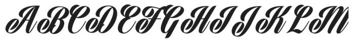 Harbell otf (400) Font UPPERCASE