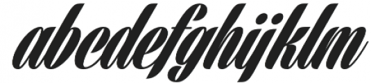 Harbell otf (400) Font LOWERCASE