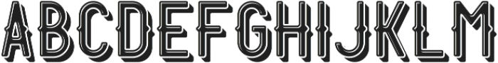 Harbor ShadowAndLight otf (300) Font UPPERCASE