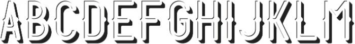 Harbor ShadowAndLightFX otf (300) Font LOWERCASE