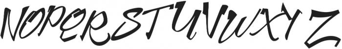 Harbour Script otf (400) Font UPPERCASE