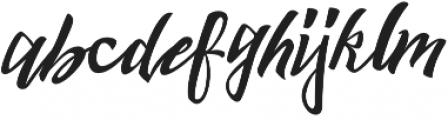 Harbour Script otf (400) Font LOWERCASE