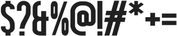Hardline ttf (400) Font OTHER CHARS