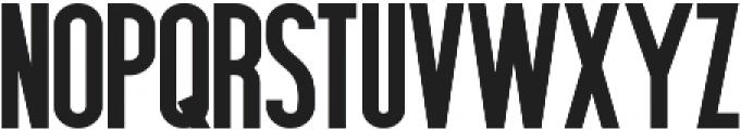 Hardline ttf (400) Font LOWERCASE
