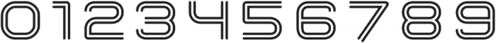 Hardliner BiLine AOE Regular otf (400) Font OTHER CHARS