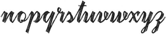 Hardwatt otf (400) Font LOWERCASE