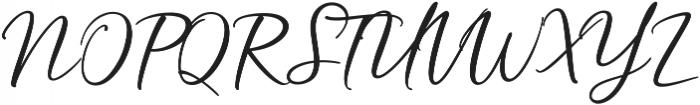 Hardwired Script Regular ttf (400) Font UPPERCASE